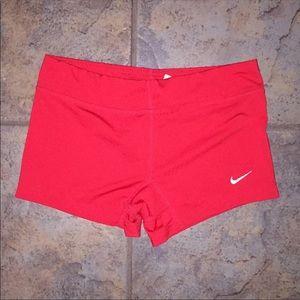 Nike dri fit spandex short